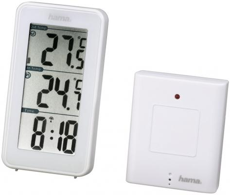 Метеостанция Hama 123126 EWS-152 белый цена и фото