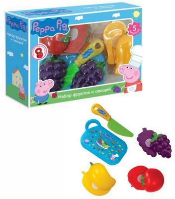 Набор фруктов и овощей Peppa Pig 5 предметов 29888