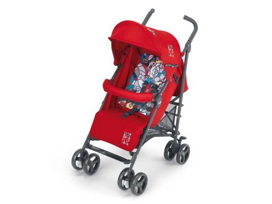 Коляска-трость Cam Flip (цвет 24/красный/cartoon/847) cam коляска 3 в 1 dinamico elite up cam бежевый