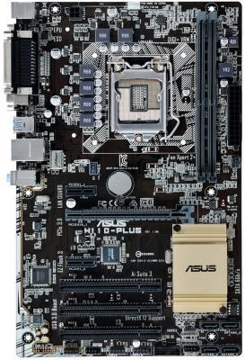 Мат. плата для ПК ASUS H110-PLUS Socket 1151 H110 2xDDR4 1xPCI-E 16x 3xPCI 2xPCI-E 1x 4 ATX Retail