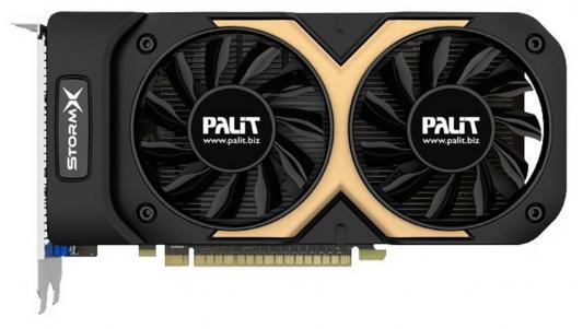 Видеокарта 2048Mb Palit GeForce GTX750Ti PCI-E StormX OC 2G 128bit DDR5 DVI HDMI CRT HDCP Retail
