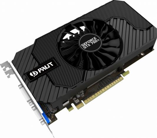 Видеокарта 2048Mb Palit GeForce GTX750Ti PCI-E StormX Dual 128bit DDR5 DVI HDMI CRT HDCP NE5X75TSHD41-1076F Retail