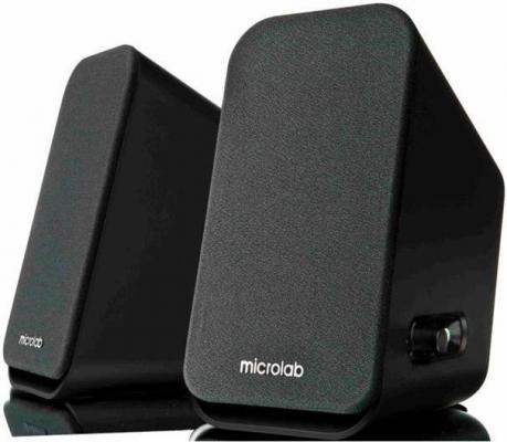 Колонки Microlab B58 2х2 Вт черный
