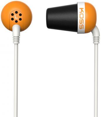 Наушники Koss The Plug оранжевый наушники koss the plug blue