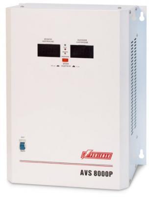 Стабилизатор напряжения Powerman AVS-8000P 8000VA белый