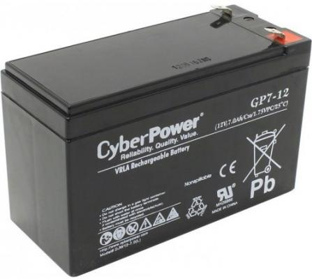 Батарея CyberPower 12V7Ah 0289174 GP7-12 gp7 12