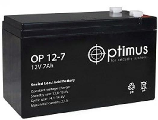 Батарея PowerCool Optimus OP1207 12V/7Ah