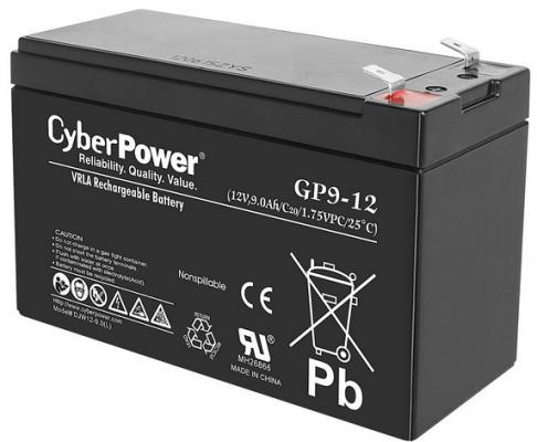 все цены на Батарея CyberPower 12V9Ah GP9-12