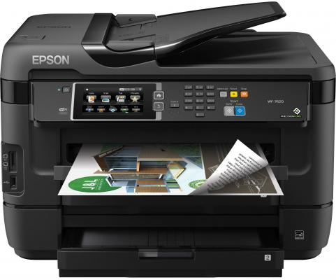 МФУ Epson WorkForce WF-7620DTWF цветное А3 32/20ppm 4800x2400dpi Ethernet USB Wi-Fi C11CC97302