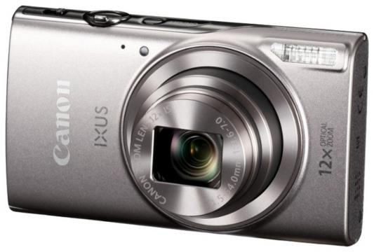Фотоаппарат Canon Ixus 285HS 20Mp 12xZoom серебристый 1079C001 цена и фото