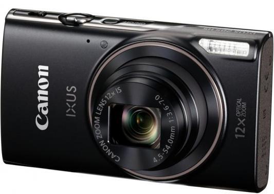 Фотоаппарат Canon Ixus 285HS 20Mp 12xZoom черный 1076C001