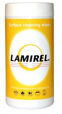 Чистящие салфетки Fellowes Lamirel LA-5144001 100 шт влажные салфетки fellowes lamirel la 21617 01 24 шт