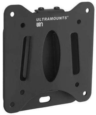 """Кронштейн Ultramounts UM216 черный 13""""-27"""" настенный от стены 14мм VESA 75x75 до 30кг"""