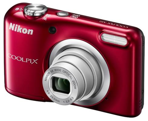 Фотоаппарат Nikon Coolpix A10 16Mp 5x Zoom красный