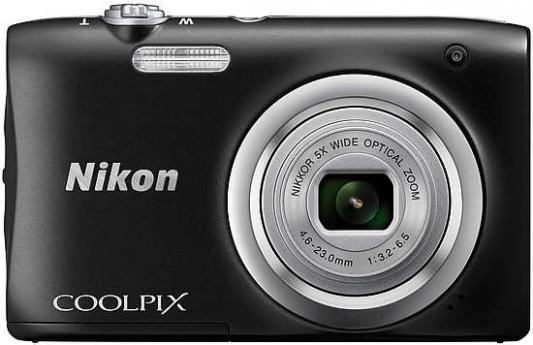 Фотоаппарат Nikon Coolpix A100 20Mp 5x Zoom черный