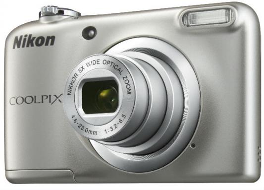 Фотоаппарат Nikon Coolpix A10 16Mp 5x Zoom серебристый
