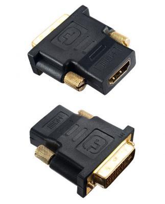 Переходник HDMI-DVI Perfeo A7004 переходник onetech vhd0101 hdmi dvi d