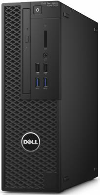 Системный блок DELL Precision T3420 MT Xeon E3-1240v5 3.5GHz 8Gb 256Gb SSD K620-2Gb WiFi BT Win7 Win8 клавиатура мышь 3420-0080