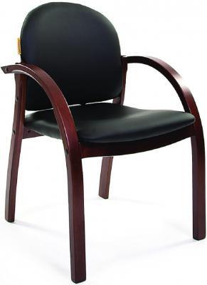Кресло Chairman 659 Terra черный матовый/темный орех 6066646 цена