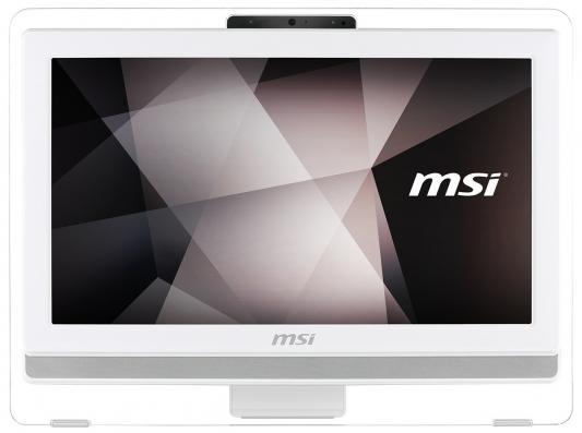 """Моноблок 19.5"""" MSI Pro 4BW-015RU 1600 x 900 Touch screen Intel Celeron-N3150 4Gb 500Gb Intel HD Graphics 64 Мб Windows 10 Home белый 9S6-AA8B11-014 9S6-AA8B12-015"""