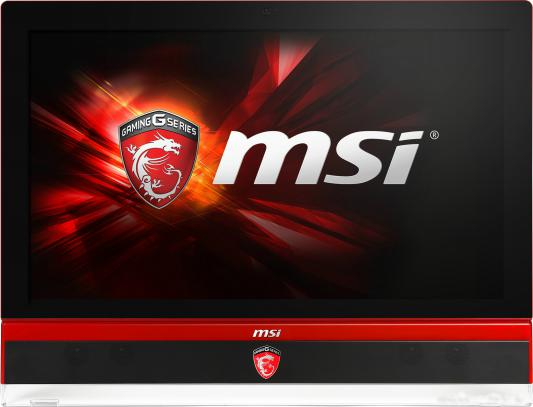 "Моноблок 27"" MSI Gaming 6QE-004RU 1920 x 1080 Intel Core i7-6700 8Gb 1Tb + 256 SSD nVidia GeForce GTX 980M 8192 Мб Windows 10 Home черный красный 9S6-AF1C11-004 9S6-AF1C11-004"