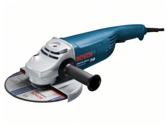 Картинка для Углошлифовальная машина Bosch GWS 24-180 H 180 мм 2400 Вт
