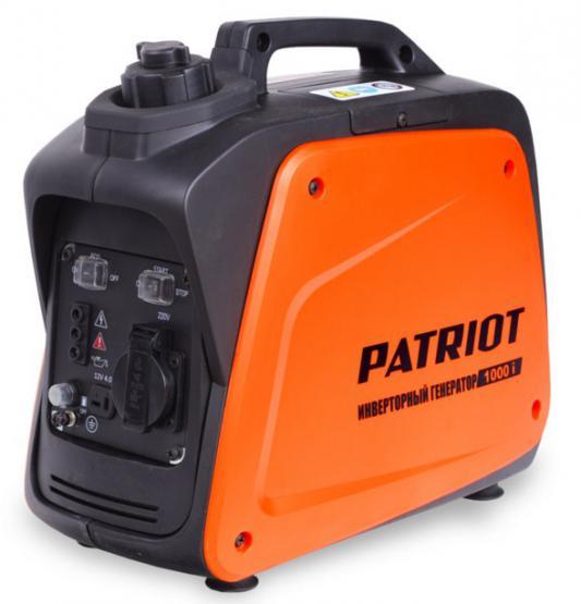 Генератор Patriot 1000i бензиновый бензиновый генератор patriot 1000i 220 в 0 9квт [474101025]