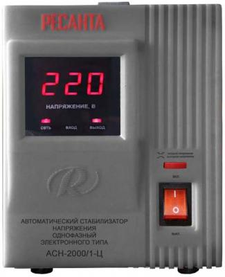 Стабилизатор напряжения Ресанта АСН-2000/1-Ц серый