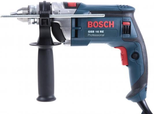 Купить Дрель-шуруповерт Bosch GSB 16 RE Case ЗВП 750Вт 060114E600