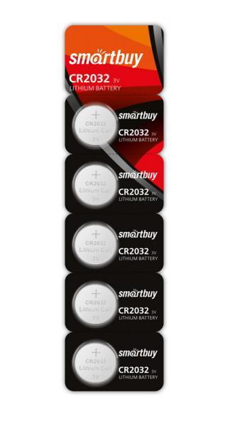 Батарейки Smartbuy SBBL-2032-5B CR2032 5 шт