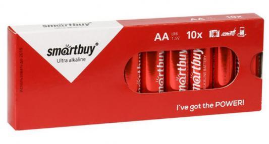 Батарейки Smartbuy SBBA-2A10BX AA 10 шт батарейка smartbuy sbba 9v01b 6lr61 1 шт
