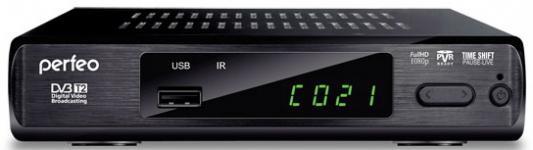 Тюнер цифровой DVB-T2 Perfeo PF-168-3-OUT
