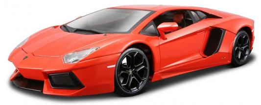 Автомобиль Welly Lamborghini Aventador 1:18 красный