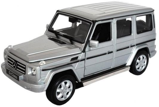 Автомобиль Welly Mercedes-Benz G-Class 1:34-39 mercedes а 160 с пробегом