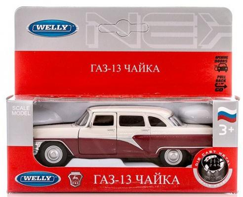 Автомобиль Welly Чайка GAZ 13 1:34-39 автомобиль welly vw golf v 1 18