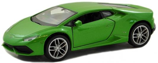 Автомобиль Welly Lamborghini Huracan LP 610-4 1:34-39 автомобиль bburago lamborghini sesto elemento 1 24 18 21061