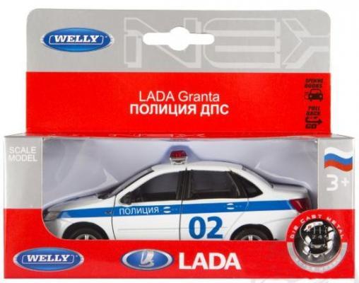 Полиция Welly Lada Granta 1:34-39 welly модель машины 1 34 39 lada granta полиция welly