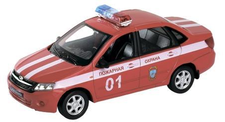 Пожарная охрана Welly Lada Granta 1:34-39 пожарная охрана welly lada granta 1 34 39