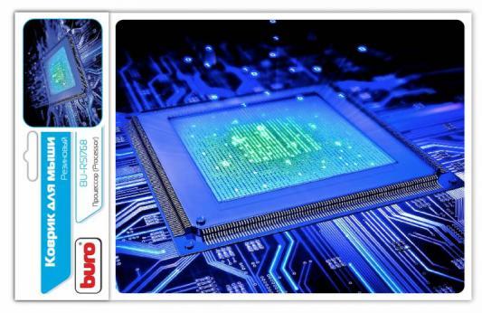 все цены на Коврик для мыши Buro BU-R51768 процессор онлайн