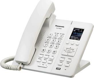 Телефон IP Panasonic KX-TPA65RU белый телефон ip panasonic kx nt553ru белый