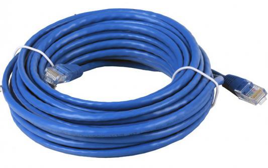 Патч-корд UTP 5е категории Telecom 0.5м литой синий NA102