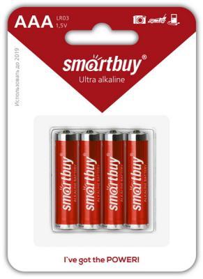 Батарейки Smartbuy SBBA-3A04B AAA 4 шт