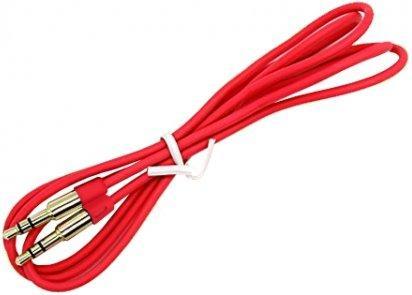 Кабель соединительный 1.0м Gembird 3.5 Jack (M) - 3.5 Jack (M) красный CCA-3.5MM-1R