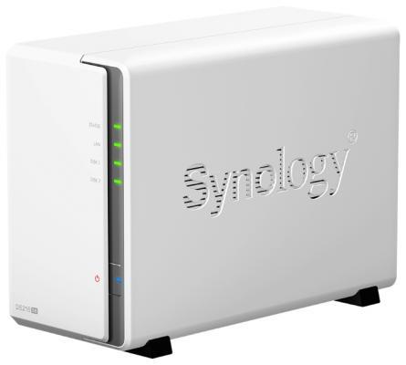 "Сетевой накопитель Synology DS216se 2x2.5""/3.5"" RAID 0/1 GbLAN 2xUSB"