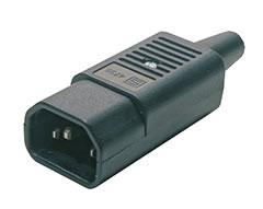 Разъем Hyperline CON-IEC320C14 hyperline 15379