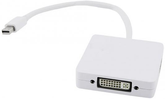Переходник mini DisplayPort M-HDMI+DVI+DP/F 5bites AP-012 nvidia mini dp display port male to dp displayport female m f adapter converter digital video cable cord for macbook