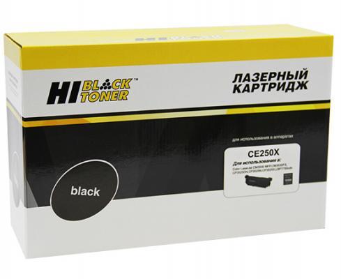 Картридж Hi-Black для HP CE250X CLJ CP3525/3530 CM3525/3530 черный 10500стр тарелка хай хэт zultan 14 aja hi hat