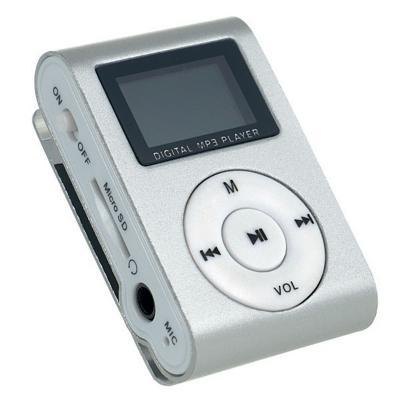все цены на Плеер Perfeo Music Clip Titanium Display VI-M001 серебристый онлайн