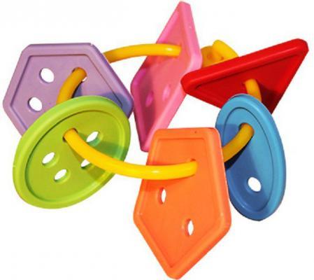 Грызунок Пластмастер Радужные пуговки разноцветный с 3 месяцев 11130