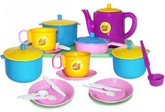 Набор посуды Пластмастер Обед 21056 пластмастер игрушечный набор монтажник